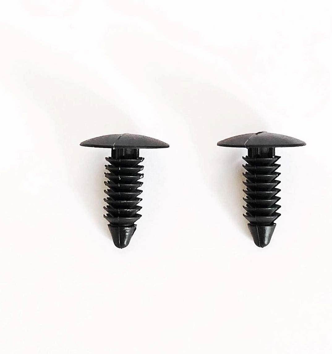 250 pcs Medium Multi-Gauge Rivet 3//16 or 7//32 Hole Patio Strapping Fasteners Webbing Lawn Chair Lounge Black