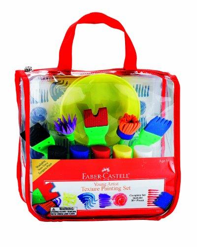 Faber-Castell - Young Artist Texture Painting Set - Premium Art Supplies For Kids