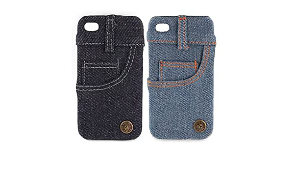 287a71ffc6e038 Zaki- Jeans Cover Hard Case for iPhone 4   4S (Side Pocket)