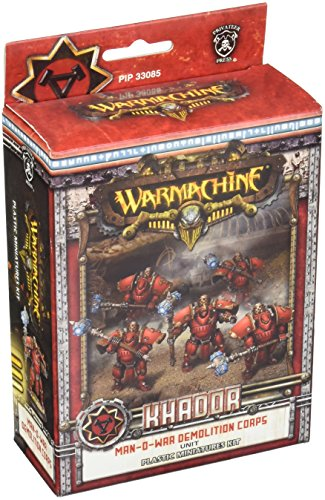 (Privateer Press - Warmachine - Khador Man-O-War Demo Corps (Plastic) Model Kit)