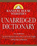 Random House Webster's Unabridged Dictionary, RH Disney Staff, 0375425667