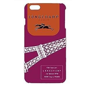 Longchamp Horse Logo Back Cover For Iphone 6 Plus/Iphone 6s Plus 3D Hard Plastic Case