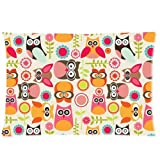 Honey Pillowcase Owl Standard 20x30 Inch Pillow Cover One Side