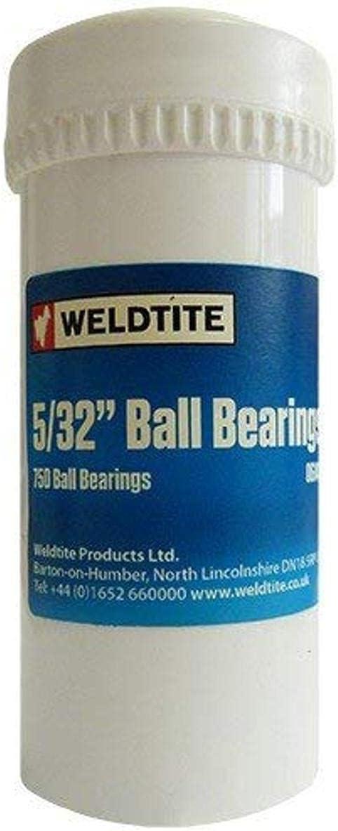 Weldtite British Made Case Hardened Ball Bearings 1//4-inch Silver