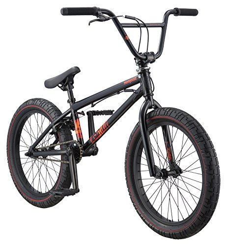 Mongoose Legion L40 Freestyle BMX Bike for Intermediate Riders, Featuring Hi-Ten Steel Frame and...