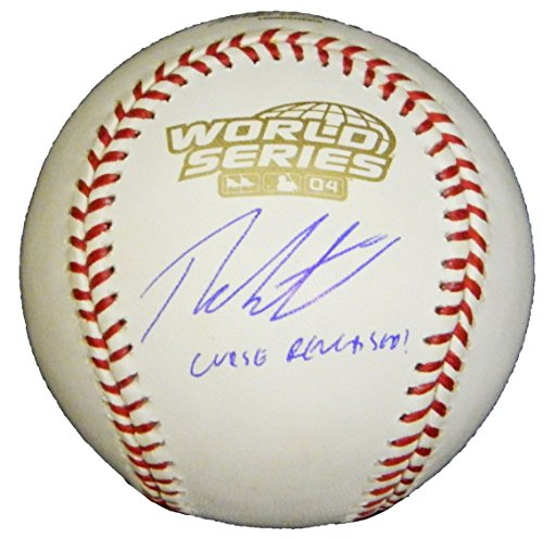 Theo Epstein Signed Rawlings Official 2004 World Series Baseball w/Curse Reversed (Signed Series 2004 World Baseball)