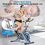 Profun-Fit-Bicicletta-Spinning-Bike-Cyclette-Fitness-Cardio-Allenamento-Casa-Ciclismo-Corsa-Macchina-Uomo-Donna-Display-LCD-Sella-Regolabile-Max-120-kg-Resistenza-Regolabile