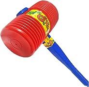 ArtCreativity Giant Squeaky Hammer, Jumbo 15 Inch Kids' Squeaking Hammer Pounding Toy, Clown, Carnival, and Circus Birthday
