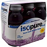 Natures Best Isopure Plus 0 Carb RTD Grape Frost 24 x 8 Oz