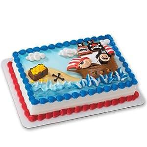 Amazoncom Little Pirates DecoSet Cake Decoration Toys Games