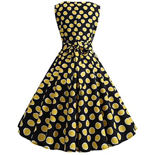 (Whitegeese Retro 1950S Cocktail Dresses Vintage Swing Bodycon Dress Party Prom Swing Dress)