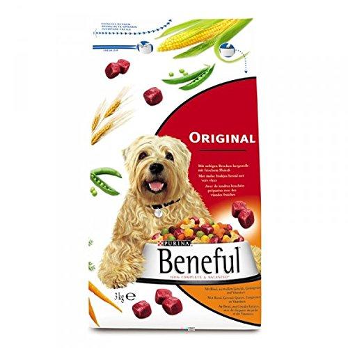 2x Beneful Original Rind & Gemüse 3kg – Hundefutter trocken