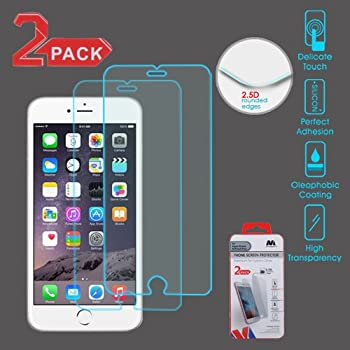 Tempered Glass Screen Protector (2.5D)(2-pack) for APPLE iPhone 6s Plus/6 Plus