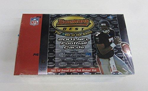 2001 Bowmans Best Football Box (Hobby) (2001 Bowman Football)