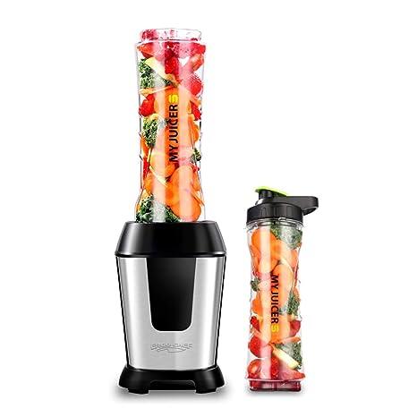 Exprimidores eléctricos Exprimidor Multifunción Portátil Máquina De Cocción Doméstica De Frutas Y Verduras Máquina Complementaria De