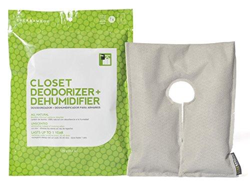 Ever Bamboo Closet Deodorizer & Dehumidifier w/ Natural Bamboo Charcoal (130 g)