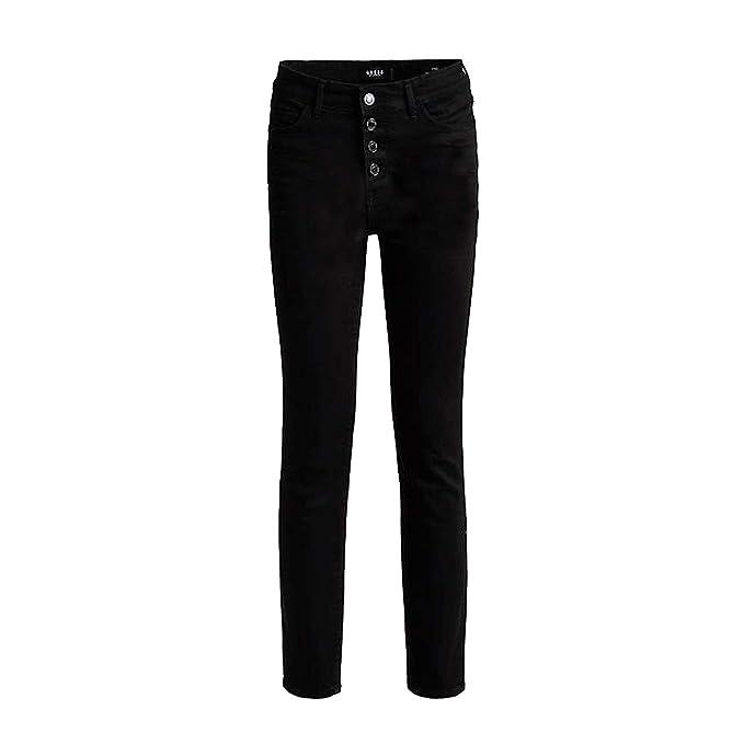 Guess W83A28W77R6 - Pantalones Vaqueros para Mujer Negro 40 ...