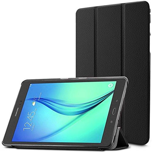 Super Slim Cover for Samsung Galaxy Tab A 8-Inch Tablet (Black) - 3