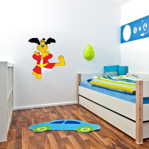 - Hong Kong Phooey Hanna Barbera Wall Graphic Decal Sticker 25