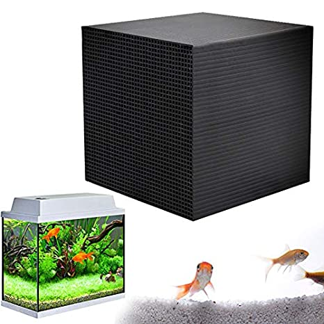 4 Pack Ultra Strong Filtration /& Absorption Fish Tank Activated Carbon Water Cleaner Filter 10x10x10cm SUGLORY 1-6 Pack Aquarium Water Purifier Cubes