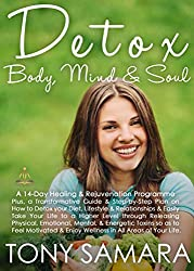 Detox Body, Mind and Soul: A 14 Day Healing and Rejuvenation Programme: A Step-by-Step Guide on How to Change your Diet, Lifestyle & Relationships & Feel Motivated & Well in All Areas of Your Life.
