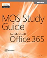 MOS Study Guide for Microsoft Office 365 Front Cover