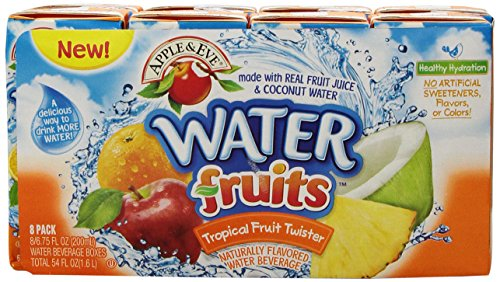 Apple & Eve Water Fruit Juice, Tropical Fruit Twister 6.75 fl oz, 8 Count (Pack of 5) (Juice Boxes Subscribe And Save compare prices)
