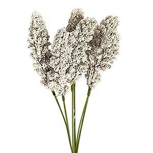 Shangwelluk 1 Bouquet Artificial Flower Simulation Plant DIY Wedding Party Holiday Decor - Dark Green 68