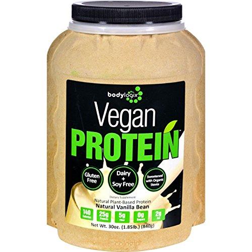 Bodylogix-Protein-Powder-Vegan-Plant-Based-Vanilla-Bean-185-lb
