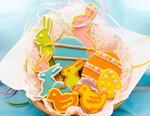 House Easter Sugar Cut-out Collection (12 Cookies)