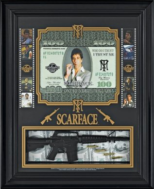 Amazoncom Al Pacino Scarface Poster Framed Great Decor For