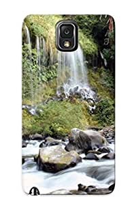 Fashionable Style Case Cover Skin Series For Galaxy Note 3- Waterfall