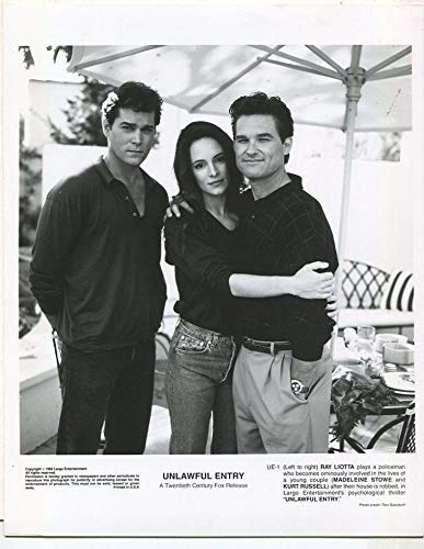 Unlawful Entry 1992 Ray Liotta Madeleine Stowe Kurt Russell Press Photo MBX 7