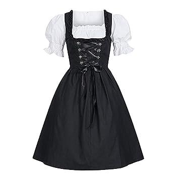 Mujer Vestido De Traje Renacentista Medieval Victoriano Corto Gotico Traje De Cosplay Blanco 5XL