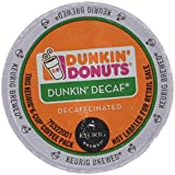 keurig k cups duncan donuts - Dunkin Donuts Decaf Coffee K-Cups For Keurig K Cup Brewers - 32 Pack