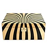Cigar Star Boketto Humidor Limited Edition Optical Illusion Made from Wood!