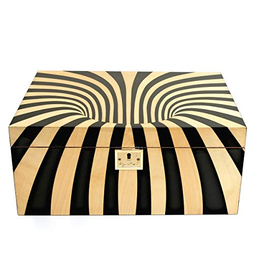Cigar Star Boketto Humidor Limited Edition Optical Illusion Made from Wood! by Cigar Star (Image #9)