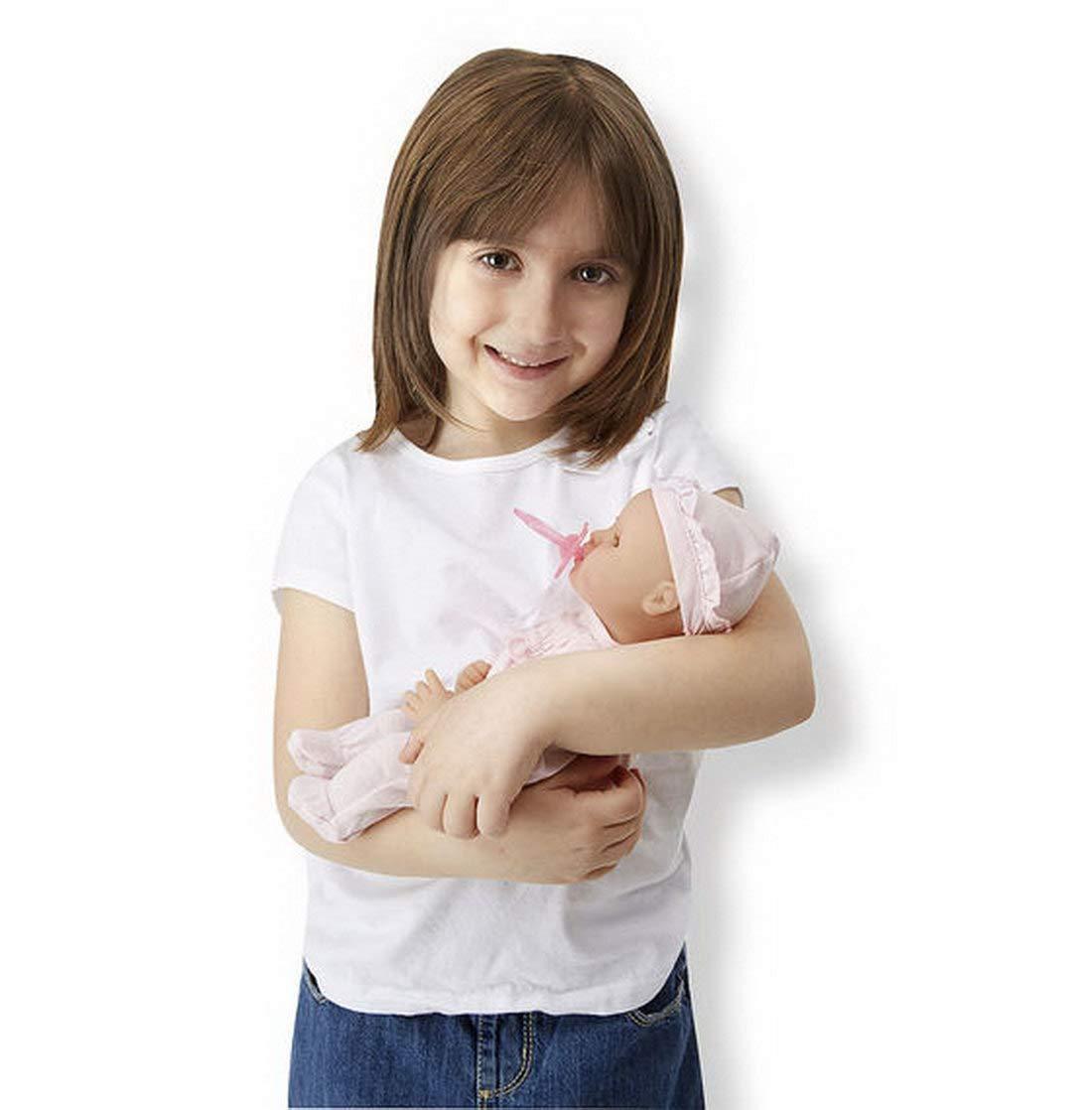 Amazon.es: Woodega - Mi Amor Jenna, First de Born Doll, recién Nacido muñeca, Aprox. 30 cm Grande, Incl. Chupete, Campana y Pelele, Color Rosa: Juguetes y ...