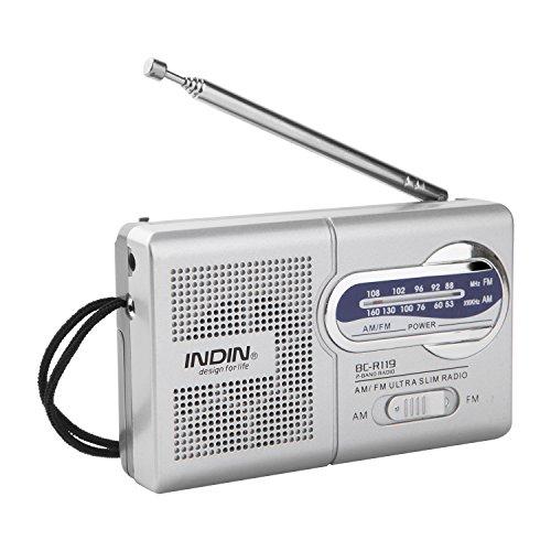 StarLight Mini Radio Portable AM/FM Telescopic Antenna Radio World Receiver Speaker