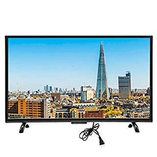 Wendry 55-inch HDR 4K Smart LED TV, 3000R Curvature Large Curved Screen Smart TV Multi-Functional Ultra HD Network Version LED Television(US)