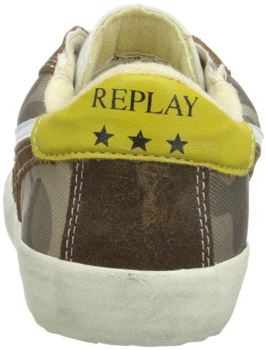 Replay Bekton Herren Sneaker Taupe