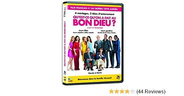 Amazon Com Qu Est Ce Qu On A Fait Au Bon Dieu Qu Est Ce Qu On A