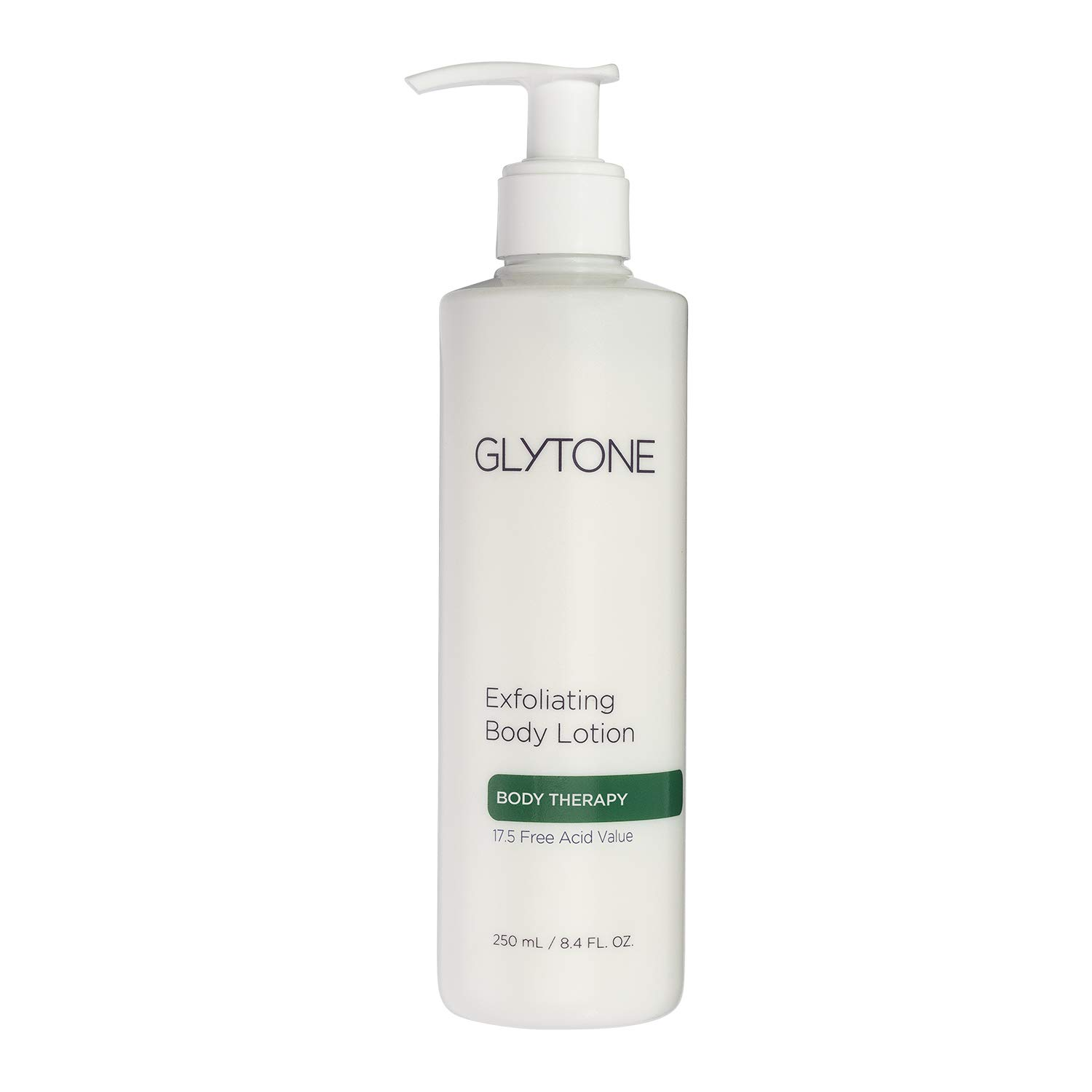 Glytone Exfoliating Body Lotion With 17.5 Free Acid Value Glycolic Acid, Keratosis Pilaris, KP, Smooths Rough & Bumpy Skin, Chicken Skin, Fragrance-Free, 8.4 oz.