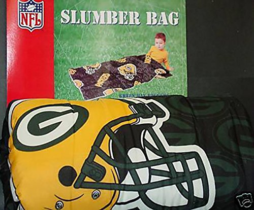 NFL Green Bay Packers - Sleeping / Slumber Bag - 30'' X 57''