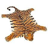 BRUBAKER Huge Brown Tiger Rug 72x42 Inch