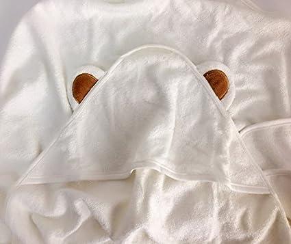 Alta calidad bambú para bebé con capucha toalla – Ultra suave, gruesa y transpirable extra