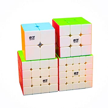 Buy D Eternal Qiyi Combo Rubiks Rubix Cube Set Of 2x2 3x3 4x4 5x5