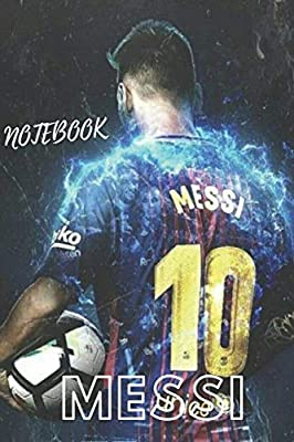 Messi Fcb Notebook Quote Notebook For Fc Barcelona Fans Lined Notebook Journal Gift 120 Pages 6x9 Soft Cover Matte Finish By Notebooks Fc Barcelona Amazon Ae