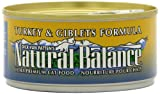 Natural Balance Canned Cat Food, Turkey and Giblets Recipe, 24 x 6 Ounce Pack, My Pet Supplies