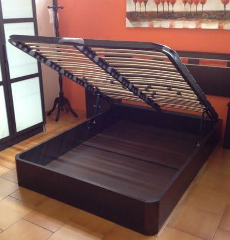 MUEBLES MATO - Canape wengue 135x190 c/somier multilaminas ...